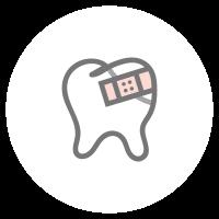 Konservierende Zahnheilkunde Icon: Füllungstherapie