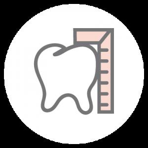 Funktionstherapie (CMD) Icon: Behandlung von Fehlfunktionen der Kaumuskulatur, des Kiefergelenks und der Bisslage